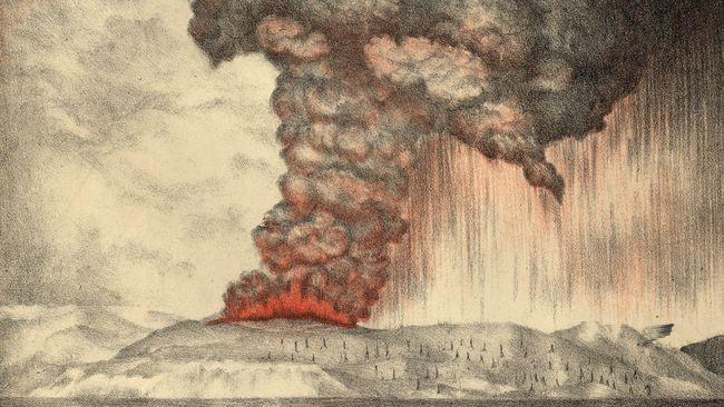 Mengingat Lagi Letusan Dahsyat Gunung Krakatau