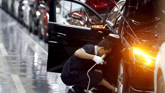 Sektor Manufaktur China Turun pada Oktober