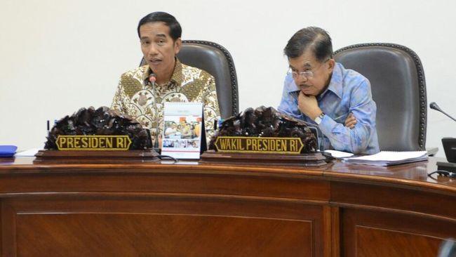 Sistem Pertahanan Semesta Resmi Diberlakukan Jokowi