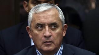 Diduga Korupsi, Presiden Guatemala Mundur dan Ditahan