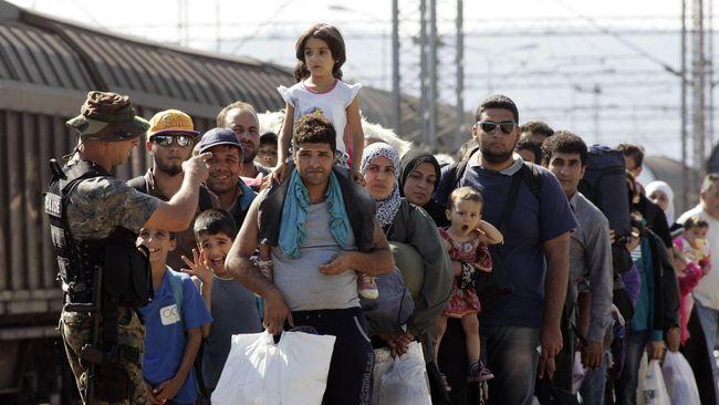 Jerman dan Austria Kewalahan Atasi Imigran
