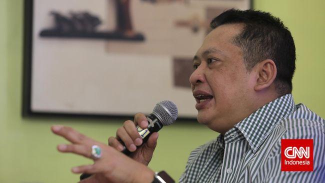 Ketua DPR Minta Menkumham Bujuk Jokowi Teken UU MD3