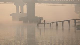 Kabut Asap Selimuti Palembang, Lima Penerbangan Terganggu