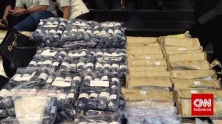 Bea Cukai Amankan 4 Ribu Ton Narkotika Sepanjang 2018