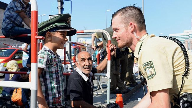 Band Punk Anti-Nazi 'Diuntungkan' Krisis Pengungsi Suriah