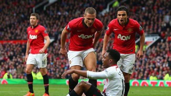 Kiper Manchester United Sebut Nemanja Vidic Mengerikan