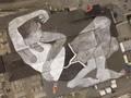 Mural Raksasa di Norwegia, Hanya Bisa Terlihat dari Pesawat