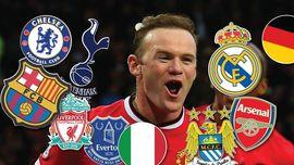Statistik Gol Rooney Melawan Tim-tim Elite