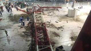 RI: Saudi Akan Bayar Kompensasi Crane Meski Perusahaan Lolos