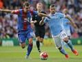 Man City Masih Tumpul di Hadapan Palace, Babak Pertama 0-0