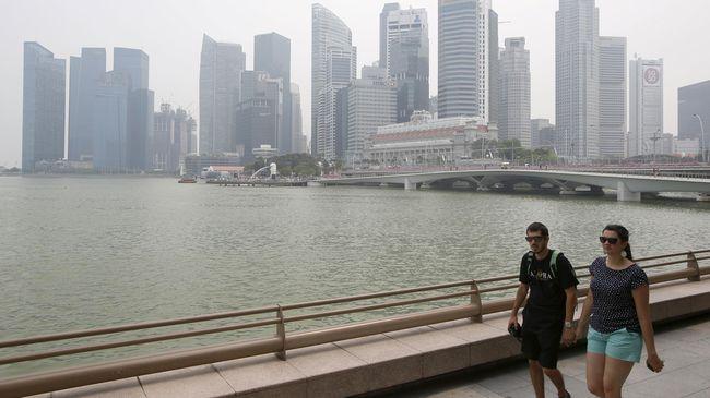 Kadar Polusi Asap di Singapura Masih di Batas Tak Sehat