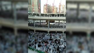 Viral, Pria Perancis Bunuh Diri di Masjidil Haram