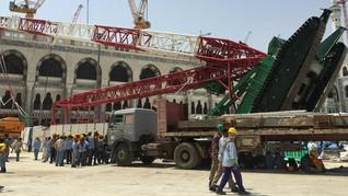 Arab Saudi Cairkan Rp85 M untuk WNI Korban Insiden Crane