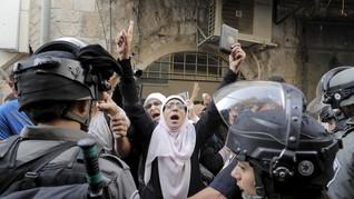 Tentara Israel Serbu Al-Aqsa, 20 Warga Palestina Luka