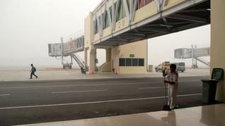 PSBB Corona, Bandara Riau Pangkas Waktu Operasional 4 Jam