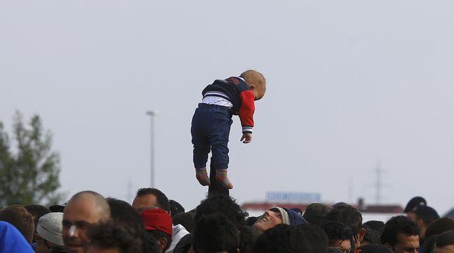 Pengungsi Anak-anak Berisiko Mati Kedinginan di Eropa