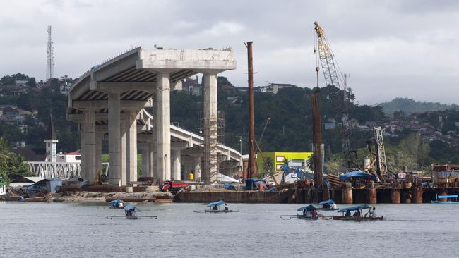 Penyelesaian Proyek Jembatan Bengawan Solo Dilelang