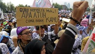 Guru Honorer Lulus PPPK 9 Bulan Nelangsa Digaji Rp150 Ribu