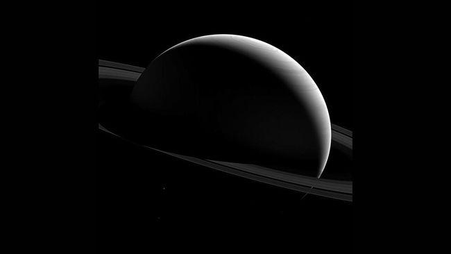 Cincin Saturnus Dulu Tak Ada dan Bakal Hilang di Masa Depan