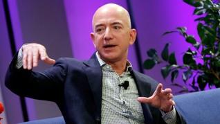 Saudi Diduga Sadap Ponsel Bos Amazon Jeff Bezos
