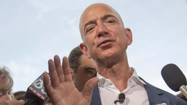 Jeff Bezos Jadi Orang Terkaya Sejagat dengan Rp1,8 Kuadriliun