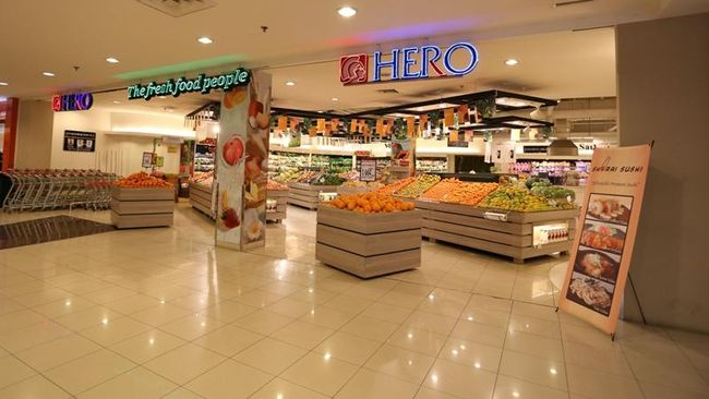 Omzet Hero Supermarket Tergerus 4 Persen Kuartal III