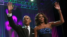 Barack-Michelle Obama Garap Serial dan Film dengan Netflix