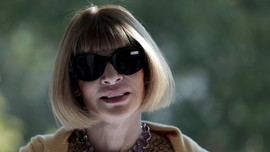 'Misteri' di Balik Kacamata Hitam Anna Wintour