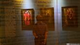Lukisan Sultan Hassanal Bolkiah dari Kerajaan Brunei Darussalam menghiasi ruang atau bab Basoeki Abdullah dengan Tiga Negara ASEAN. Karya-karyanya di sini menunjukkan popularitas sang maestro juga di Brunei Darussalam, Thailand, serta Filipina. (CNN Indonesia/Safir Makki)