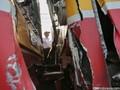 Dua KRL Berbenturan di Stasiun Juanda, Masinis Terjepit
