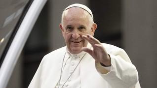 Paus Fransiskus Puji Pertemuan Trump-Kim Jong-un di DMZ
