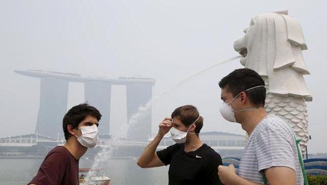 Singapura Sebut Empat Perusahaan Indonesia Pemicu Kabut Asap