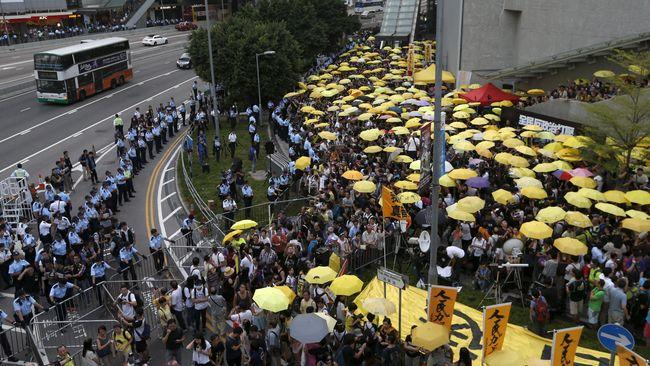 Ribuan Warga Hong Kong Demo Rencana Ekstradisi ke China