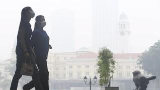 Kabut Asap Karhutla Bikin Warga Malaysia Kena Radang Mata