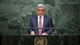 Didemo Besar-besaran, Perdana Menteri Armenia Mundur