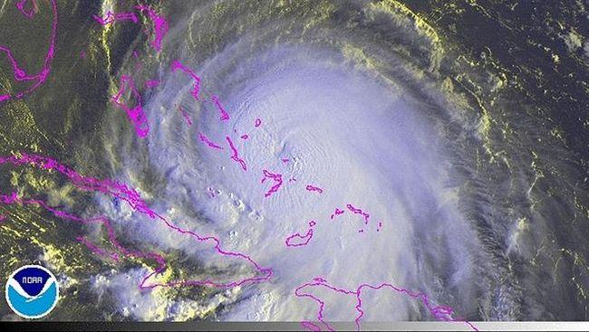 Meksiko Bersiap Untuk Patricia, Badai Terkuat Di Pasifik