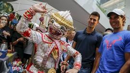 Senyum Djokovic dan Nadal Terlihat Lagi di Bangkok