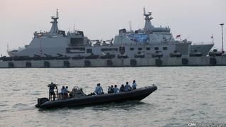 HUT TNI, Tiga Dermaga Merak Ditutup Pelayaran Steril Satu Jam