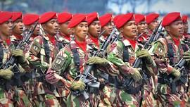 TNI Pusatkan HUT ke-72 di Cilegon, Banten