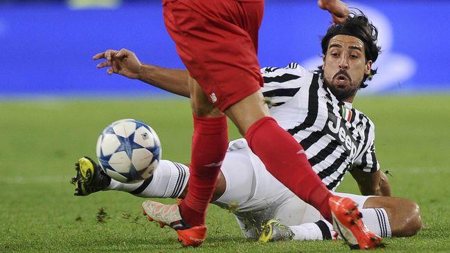 Juventus Tekuk Bologna, Khedira Cetak Gol Debut