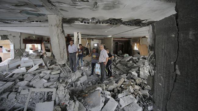 Roket Israel Bunuh Wanita Hamil di Gaza