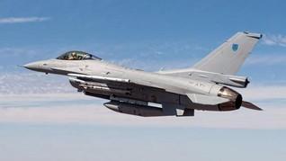 F-16 Pakistan Jatuh di Islamabad Saat Latihan Parade Militer