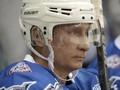 Vladimir Putin Rayakan Ulang Tahun dengan Bermain Hoki