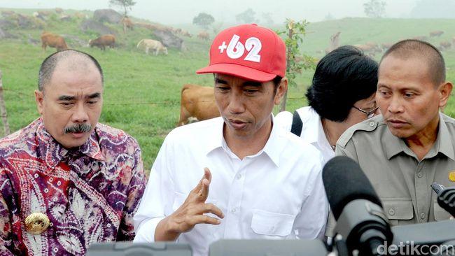 Tingkat Kepuasan Publik Terhadap Jokowi Menurun