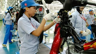 Penjualan Sepeda Motor Sepanjang Semester I 2018