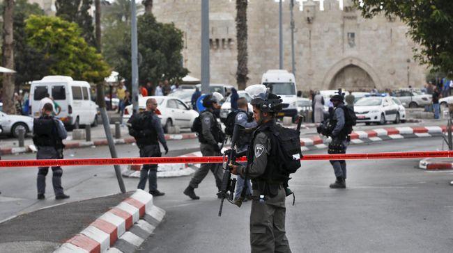 Israel Bongkar Toko dan Pompa Bensin Palestina di Yerusalem