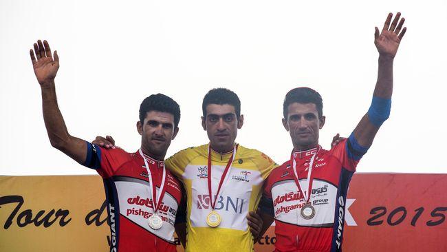 Arvin Moazemi Goudarzi Juara Tour de Singkarak 2015