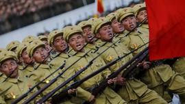 Korut Gelar Parade Militer Rayakan 70 Tahun Partai Pekerja