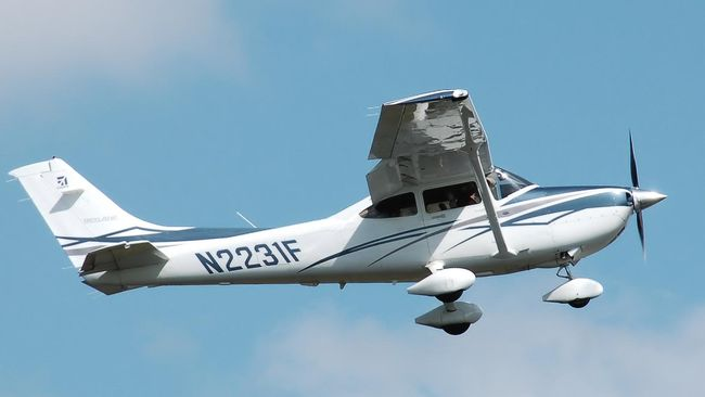 Pesawat Cessna Kecelakaan dan Tabrak Rumah Warga di Papua