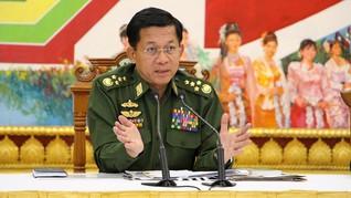 AS Larang Masuk Jenderal Myanmar yang Diduga Bantai Rohingya